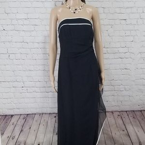 Night Way Collections strapless gown